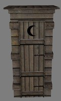 3d ready outhouse