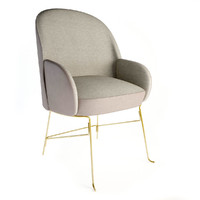 beetley small brige armchair 3d model