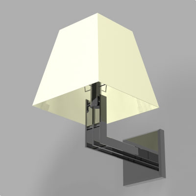 wall lamp dxf