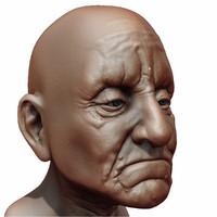 Old Man Head (Ztool)
