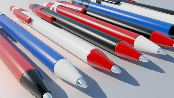 3d click pen model