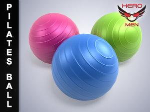 lightwave render pilates ball