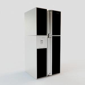 refrigerator hitachi r- gbk max free