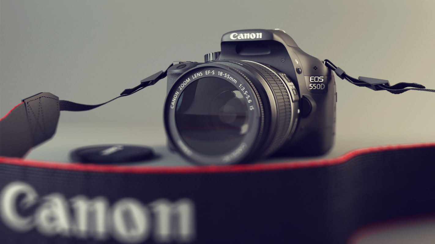 3d canon eos 550d