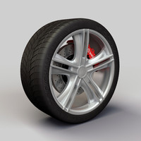 Wheel Alloy Ion 161 rims and tire