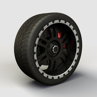 Wheel Alloy Ion 195 rims and tyre