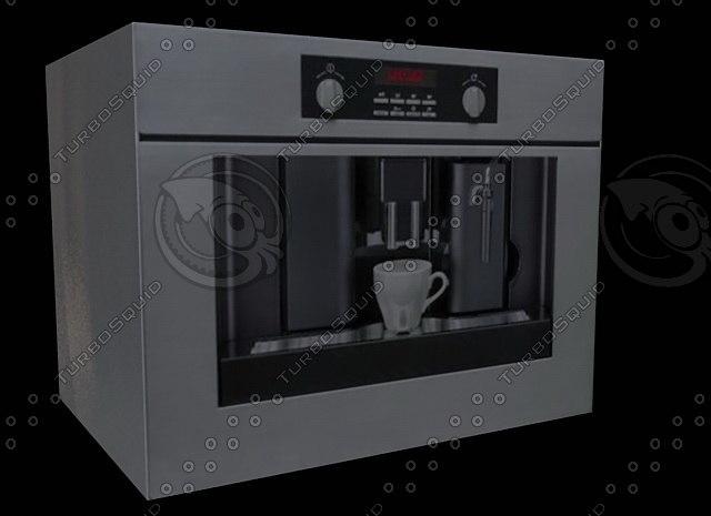3d teka coffee maker 01