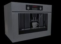 3d teka coffee maker 01