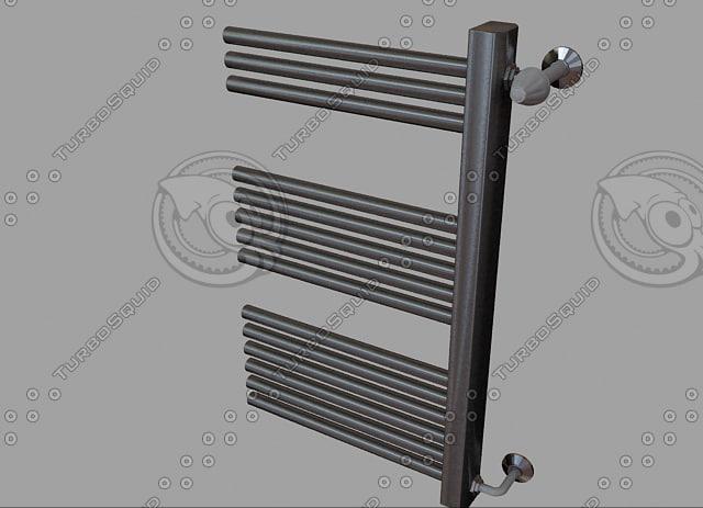 radiator heating 05 3d max