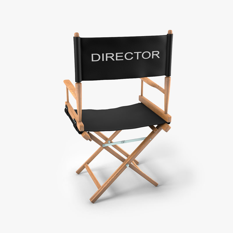 Directors chair png - 3ds Max Director Chair