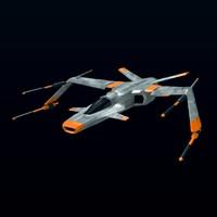 spacecraft spaceship 3d 3ds
