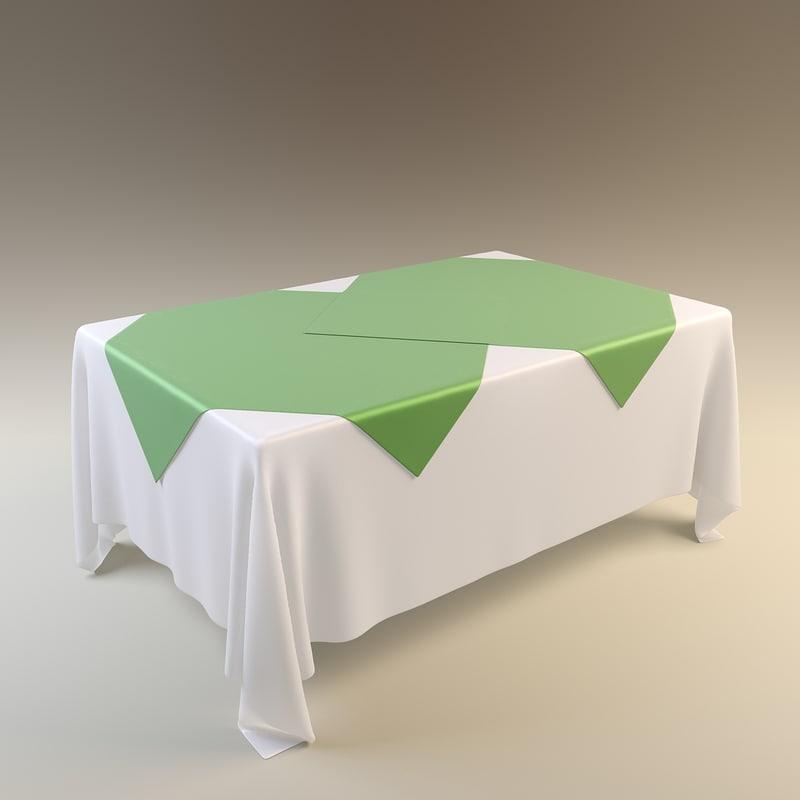 3d table tablecloth cloth
