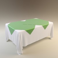 3d table tablecloth cloth