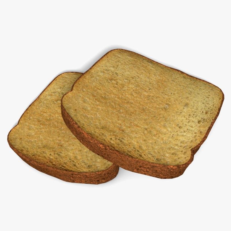3d obj toast
