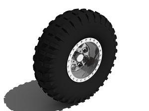 3d truck tyre model