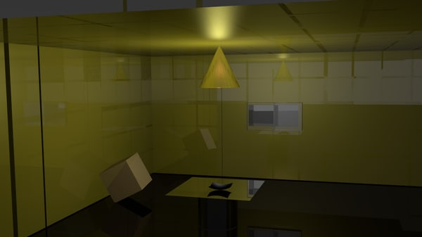 free room 3d model