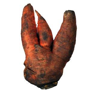 3d triple carrots