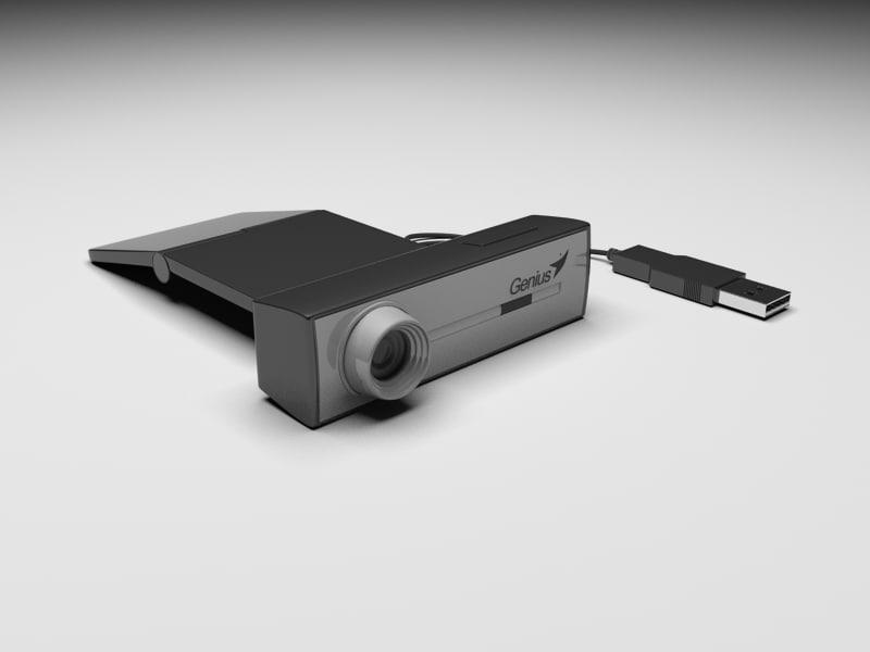 web cam 3d model