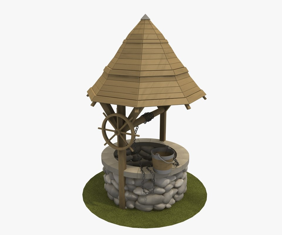 countryside western 3d model