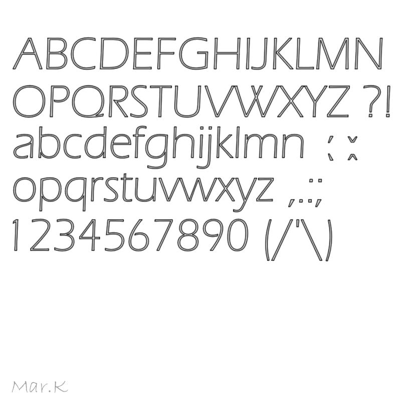 maya font eraslightitc