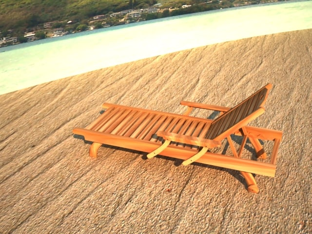 chaise longue lounge deck chair 3d max