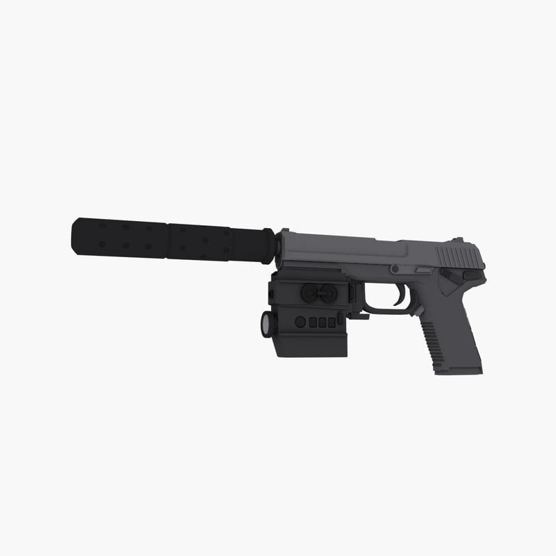 free 3ds mode socom 9mm pistol
