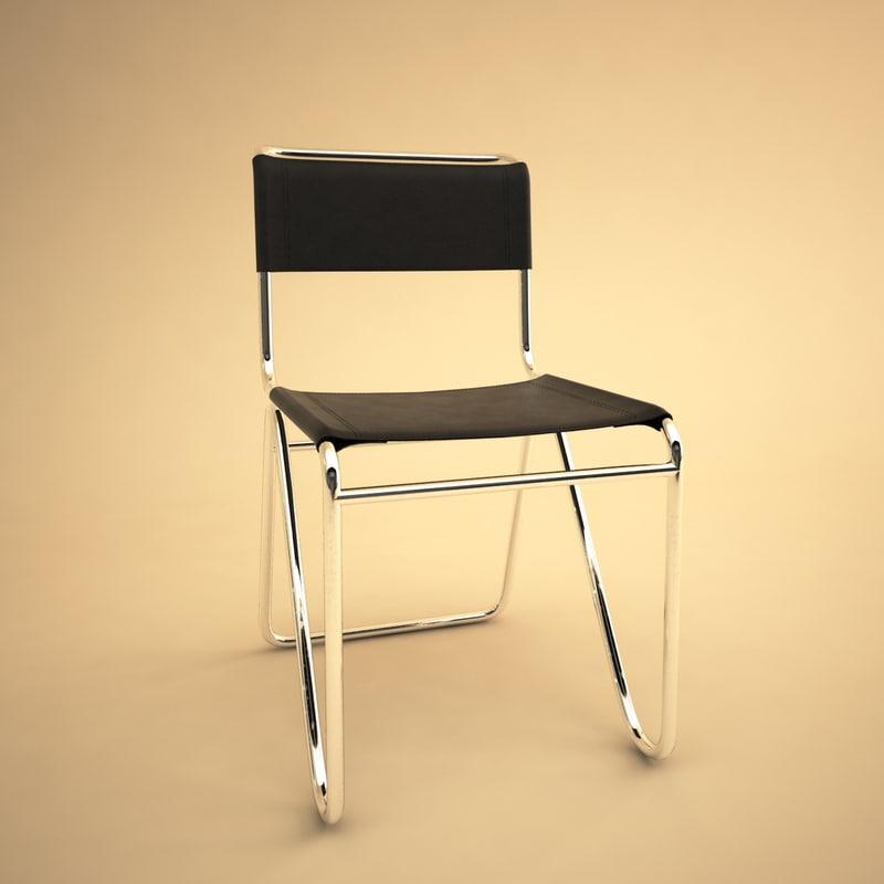3d model 103 chair