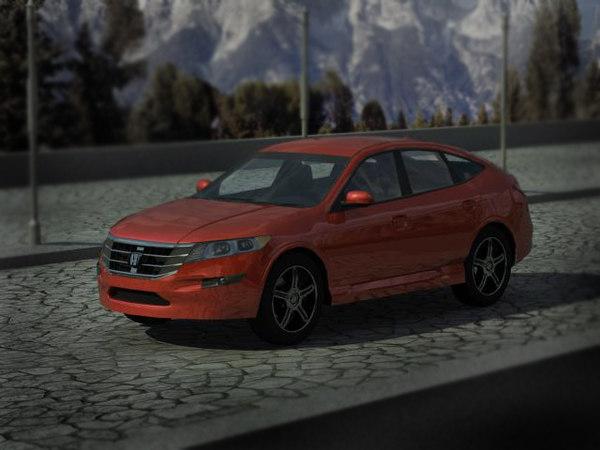 3d honda crosstour model