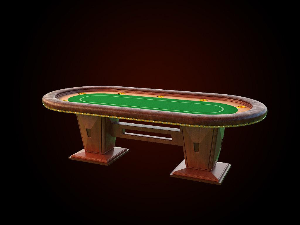 obj table poker