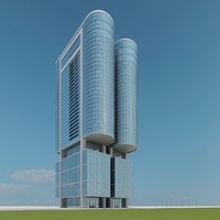 new skyscraper 84 3d model