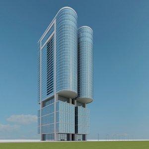 new skyscraper 84 3d model