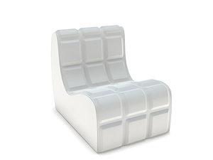 c4d modern chair