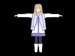 free anime character 3d model