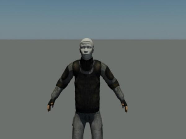 free soldier spec ops 3d model