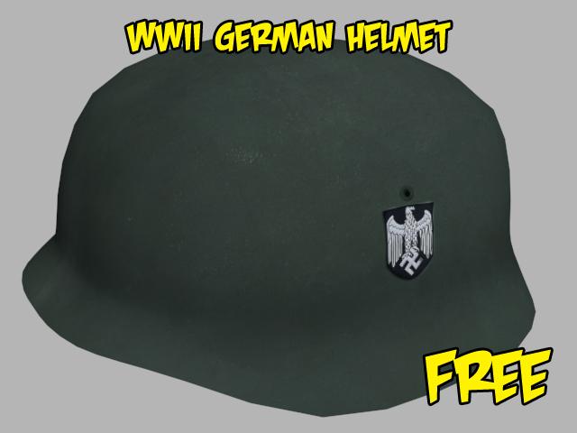 free 3ds model nazi german helmet