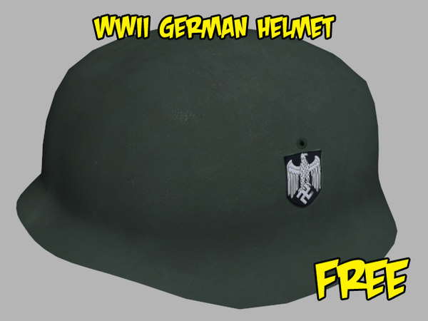 free 3ds model nazi german helmet
