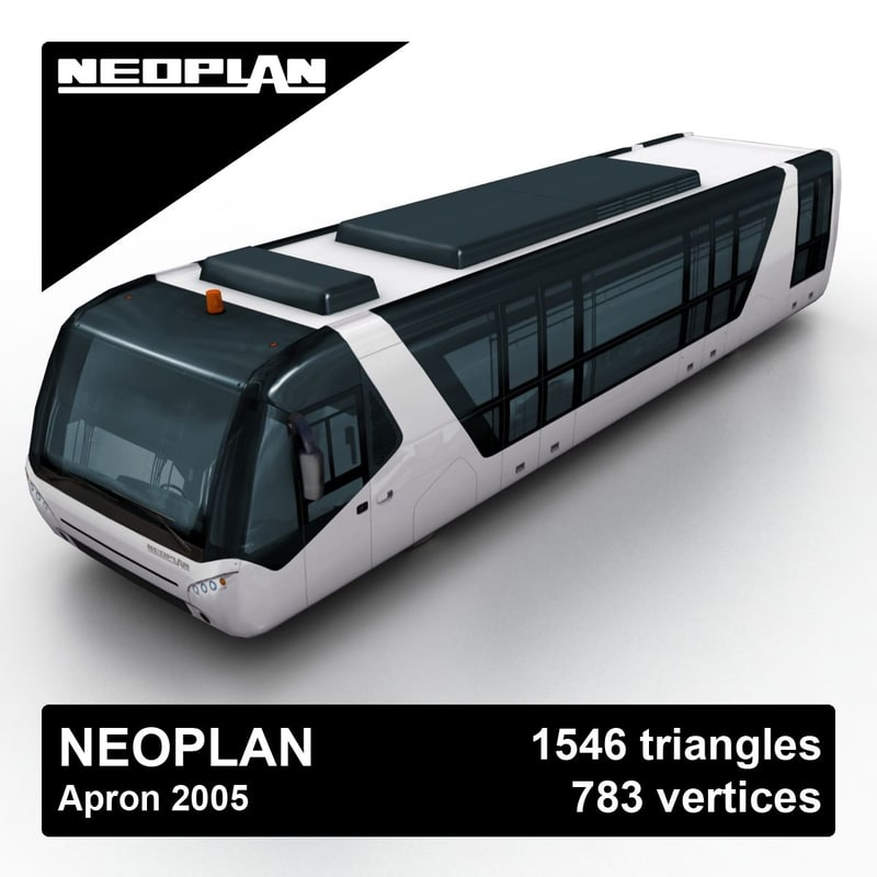 3ds 2005 neoplan apron