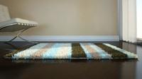 3d shag rug