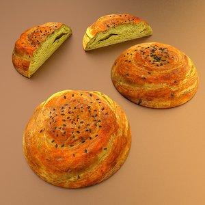 food sor qogal 3d model