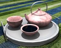 free tea pot 3d model