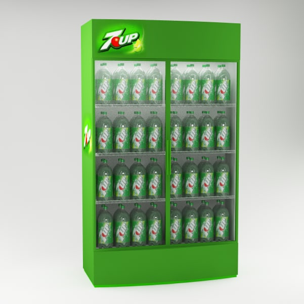 3ds max refrigerator fridge
