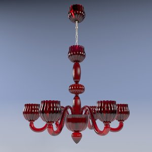 3d model voltolina accademia chandelier