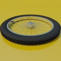 BMX bike wheel