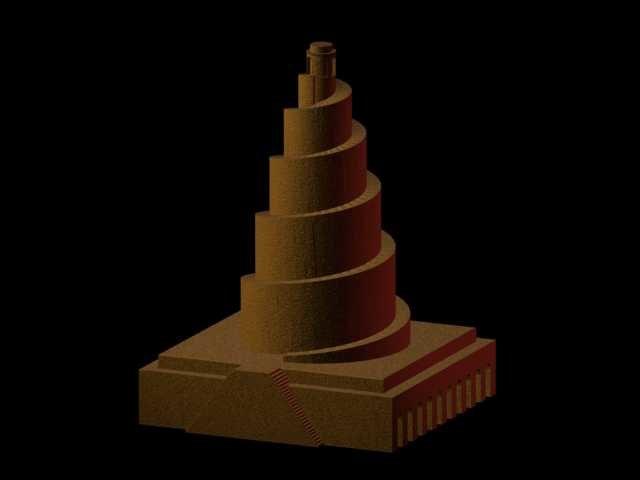 free samarra mosque iraq 3d model