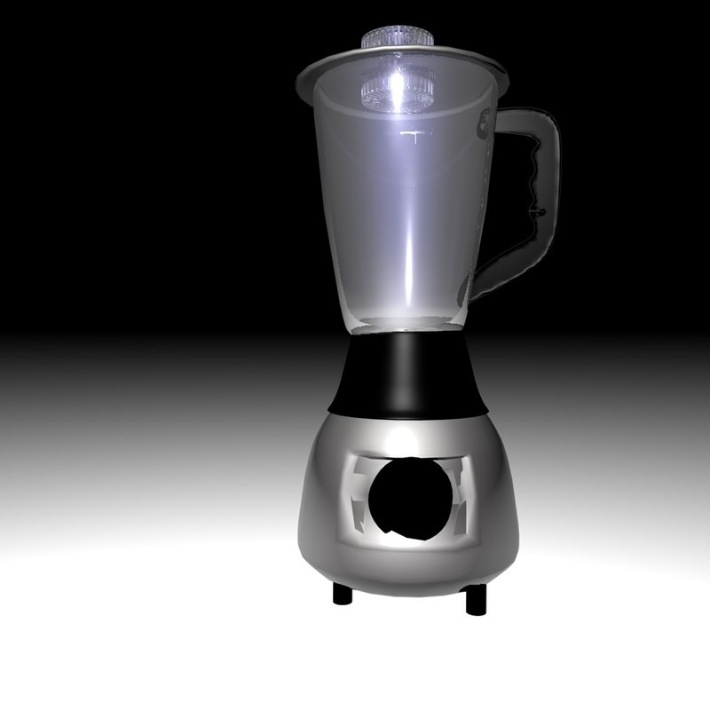 kitchen blender 3d 3ds