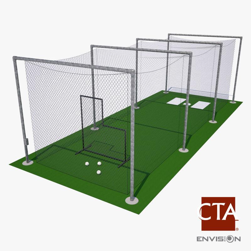 batting cage baseball max