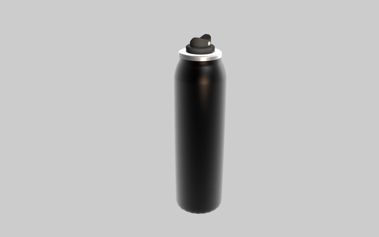 3d model deodorant spray