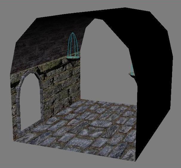 dungeon parts 3d 3ds
