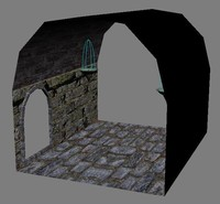 dungeon parts 3d 3ds