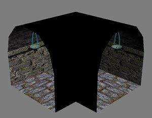 3d dungeon parts